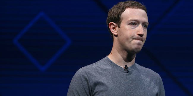 Facebook CEO Mark Zuckerberg delivers the keynote address at Facebook's F8 Developer Conference on April 18, 2017 at McEnery Convention Center in San Jose, California. The conference will explore Facebook's new technology initiatives and products.