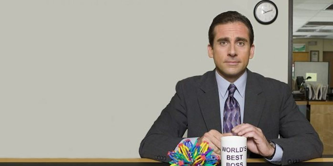 michael scott the office boss how to survive workweek