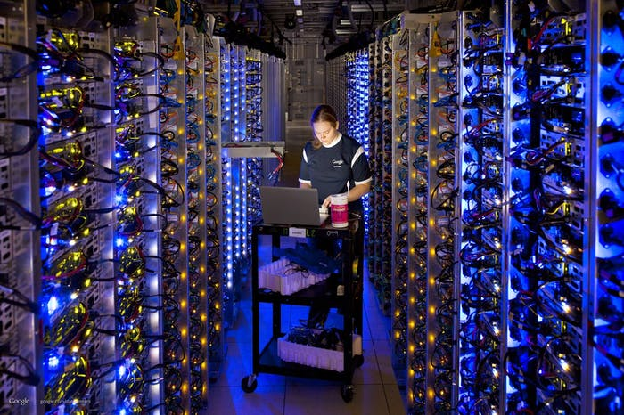 One of Google's data centers.