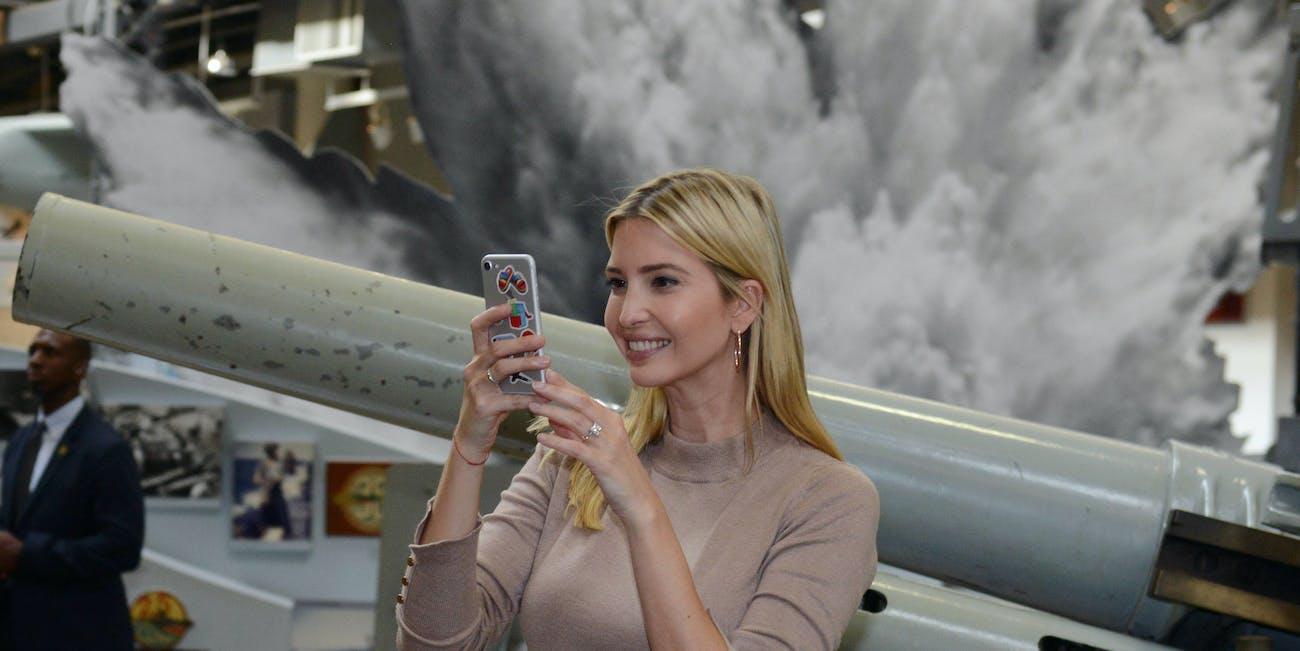 Ivanka Trump loves Twitter.