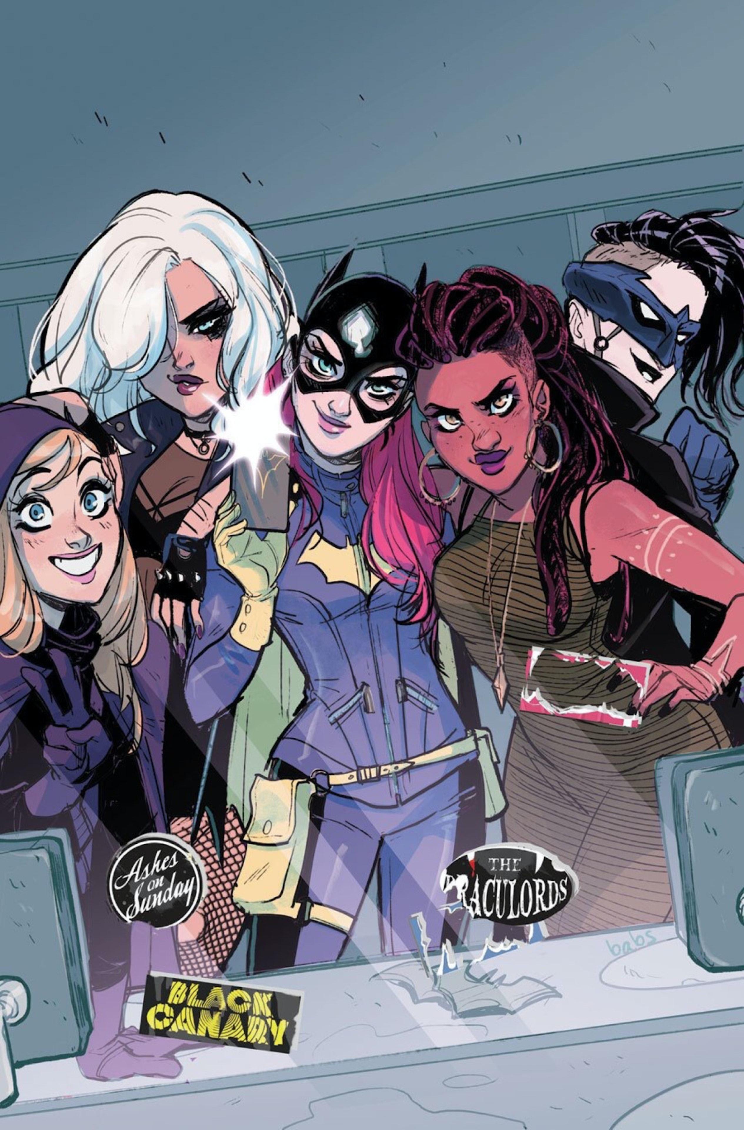 'Batgirl' #50 Cover