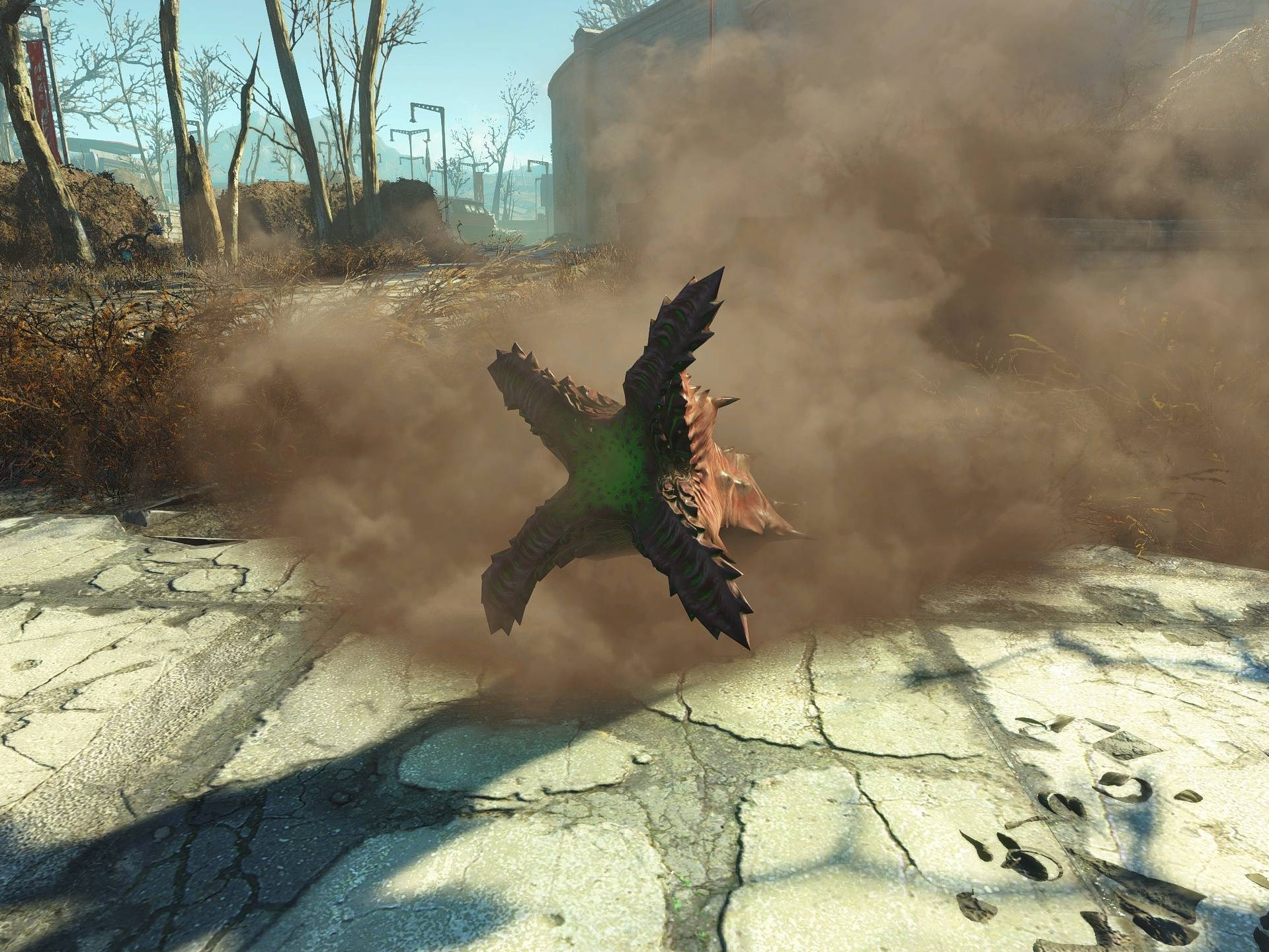 The Best 'Fallout 4' Enemy Is a Tribute to 'Tremors'