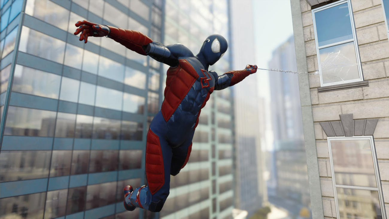 'Spider-Man' PS4 Electrically Insulated Suit