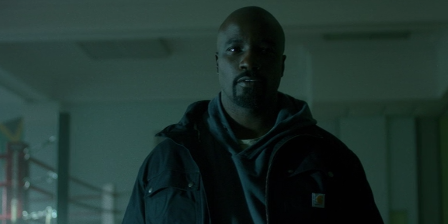 Mike Colter as Luke Cage in the upcoming Netflix series.