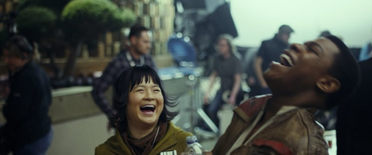 These two get along so well in 'The Last Jedi'.