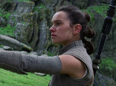 'Star Wars: The Force Awakens' and 'The Last Jedi' Make a Sentence