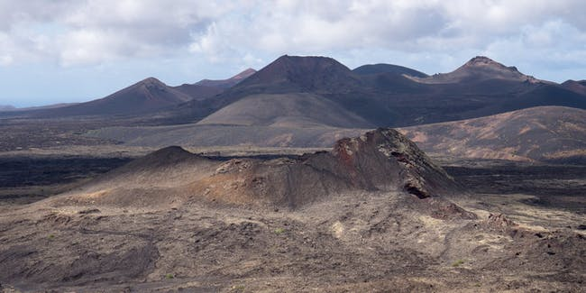 Geoparque Lanzarote in the Canary Islands, which if you squint a bit is just like Mars.