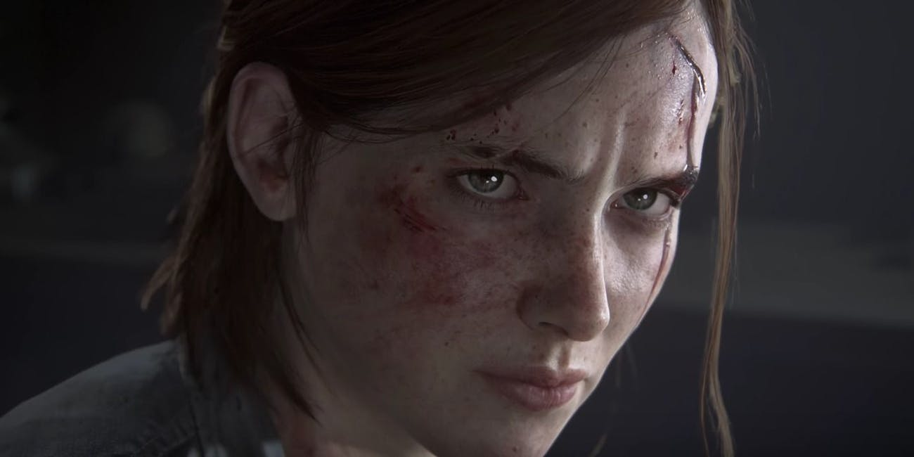 A sneak peek at an older Ellie in the Last of Us Part II.