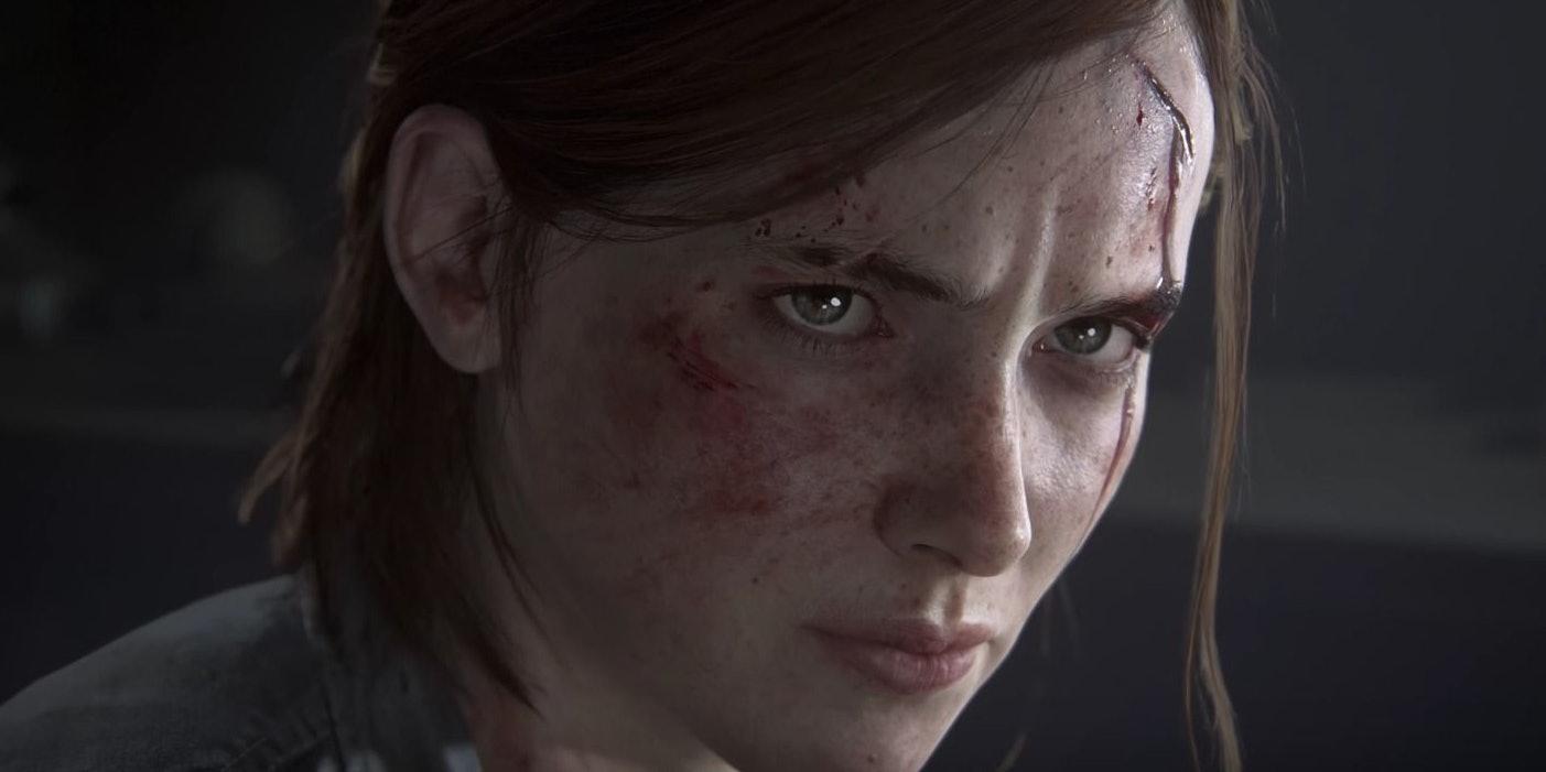 A sneak peek at an older Ellie in the Last of Us Part II.