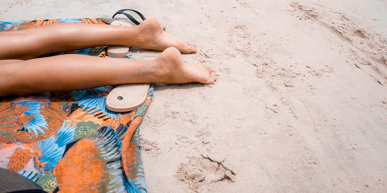 sunscreen sunbathing tanning titanium dioxide microfluidic