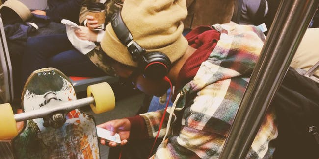 music headphones subway mind reading