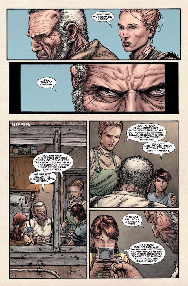 X-Men Logan Family