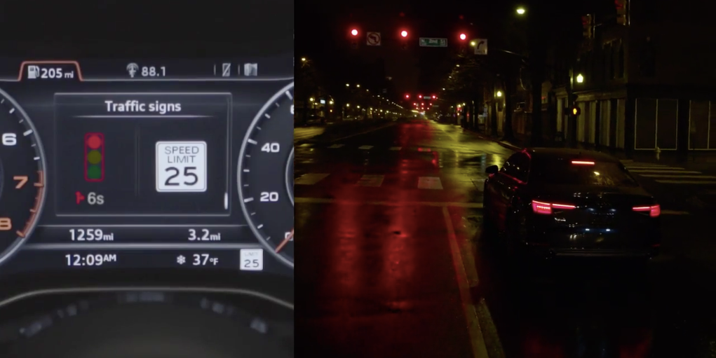 Audi S New 2017 Vehicles Will Communicate With Traffic Lights Inverse