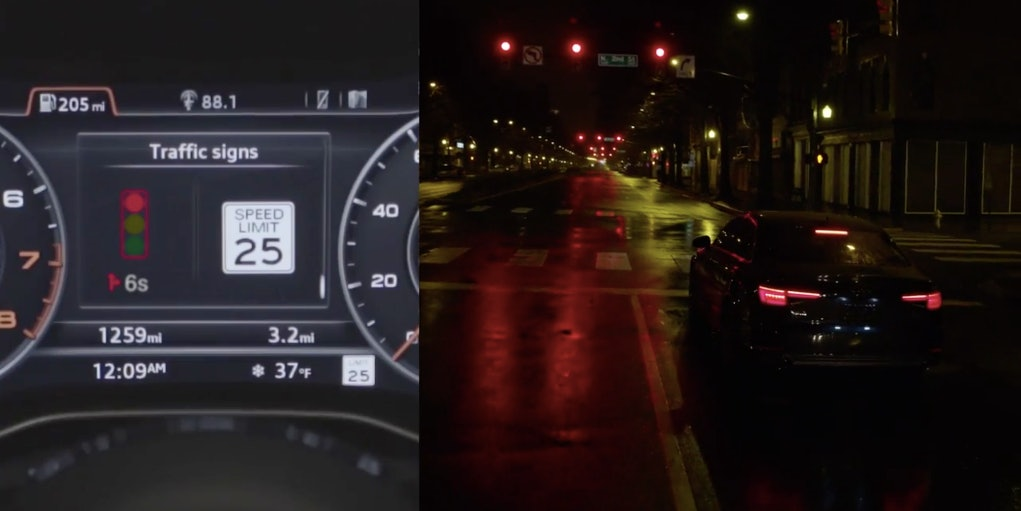 Audi vehicles will soon have a traffic light count down.