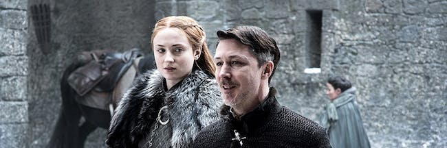New 'Game of Thrones' Season 7 photo hints at trouble between Sansa Stark and Petyr Baelish, aka Littlefinger
