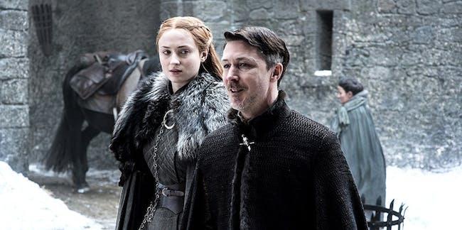 New 'Game of Thrones' Season 7 photo hints at trouble between Sansa Stark and Petyr Baelish, aka Littlefinger