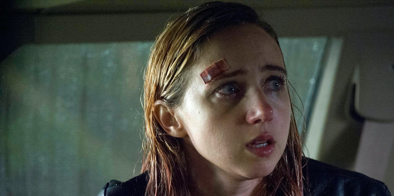 Zoe Kazan as Kathy in A24's 'The Monster'.