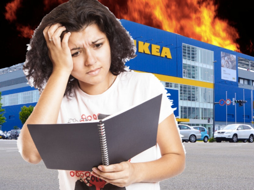 Scientists Discovered Why Building IKEA Furniture Induces Crippling Anxiety