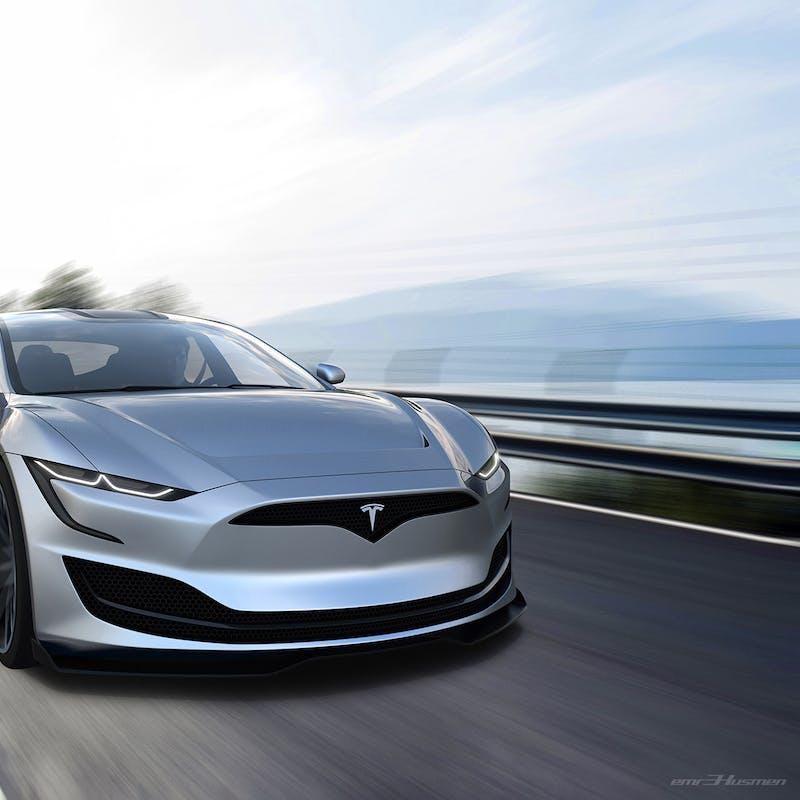 Tesla Roadster 2020 Stunning Concept Render Imagines Model S
