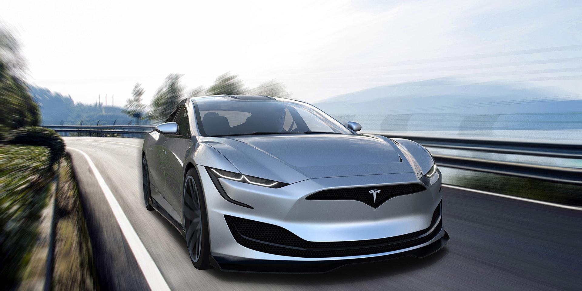 Tesla Roadster 2020 Stunning Concept Render Imagines
