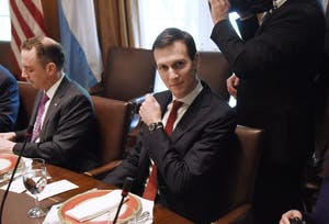 Jared Kushner failed to disclose his business ties with Cadre.