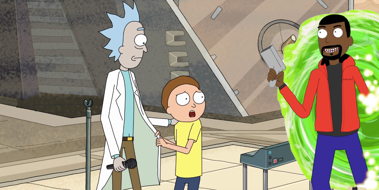 'Rick and Morty' Season 5 Could Have a Bonkers Kanye West Episode