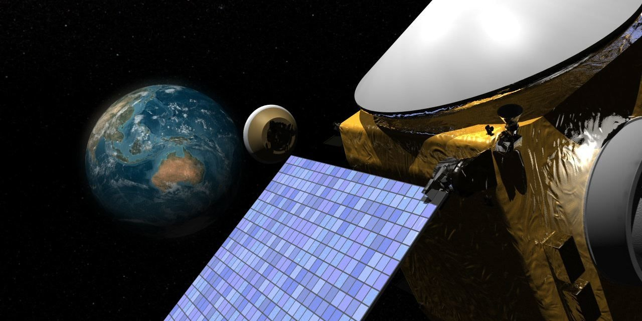 Artist's illustration of OSIRIS-REx