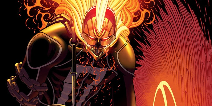 marvel's ghost rider, hulk comic crossover looks dope af | inverse