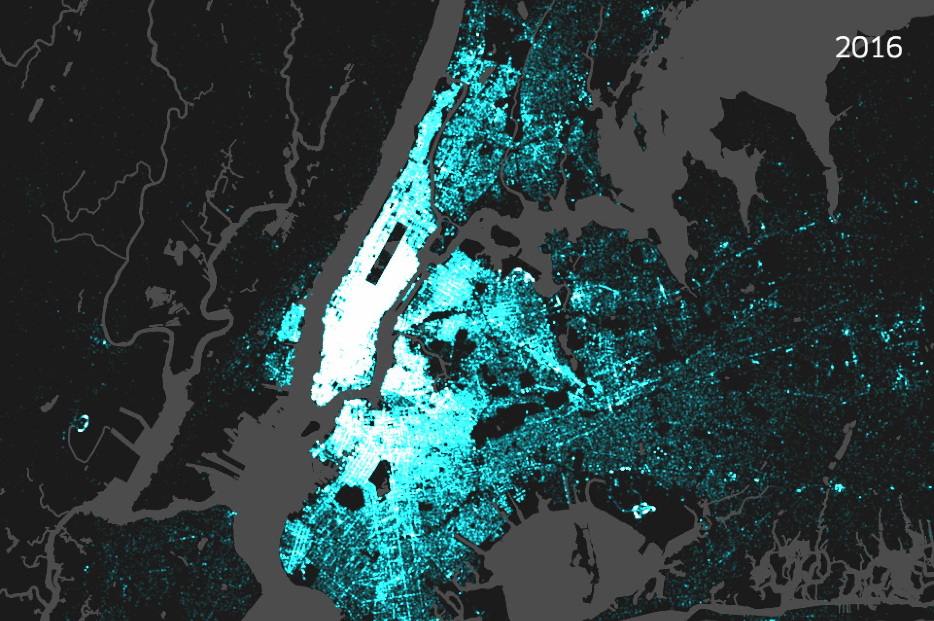 Afbeeldingsresultaat voor map uber new york inverse