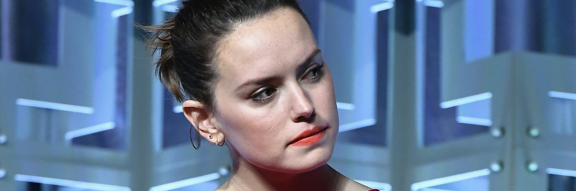 ORLANDO, FL - APRIL 14:  Daisy Ridley attends the Star Wars Celebration day 02  on April 14, 2017 in Orlando, Florida.  (Photo by Gustavo Caballero/Getty Images)