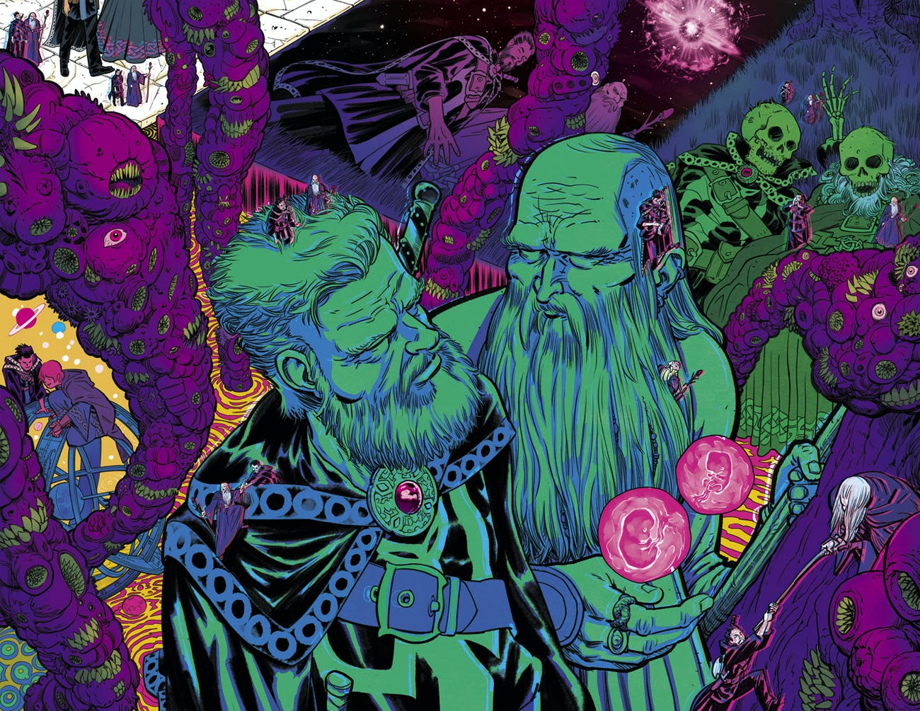 Preview for Marvel Comics Doctor Strange and the Sorcerer Supremes