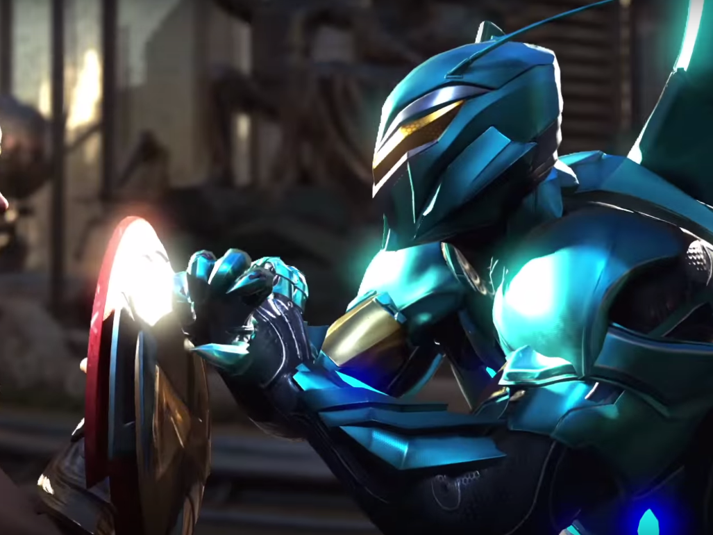'Injustice 2' is Blue Beetle's Push for Relevancy