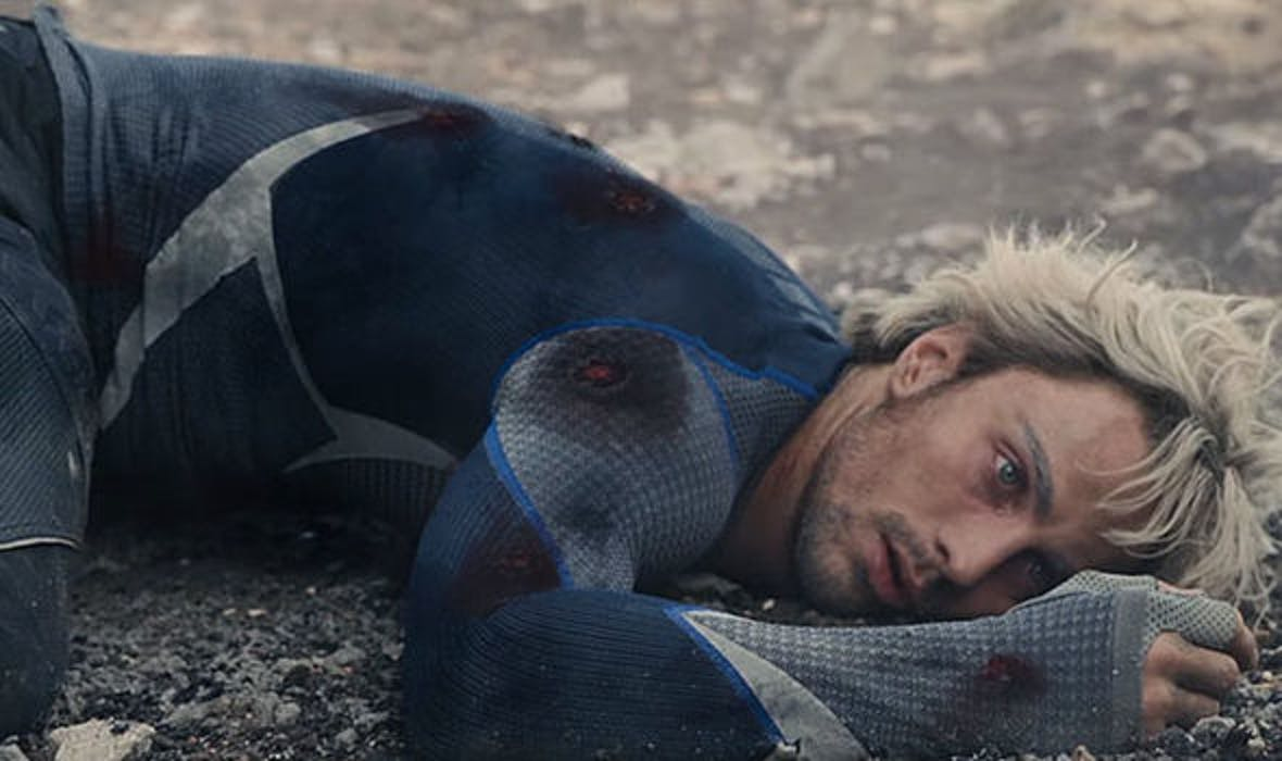 Quicksilver died back in 'Age of Ultron', but actor Aaron Taylor-Johnson was spotted on the 'Avengers 4' set.