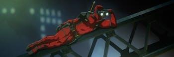 Deadpool animated series test footage.