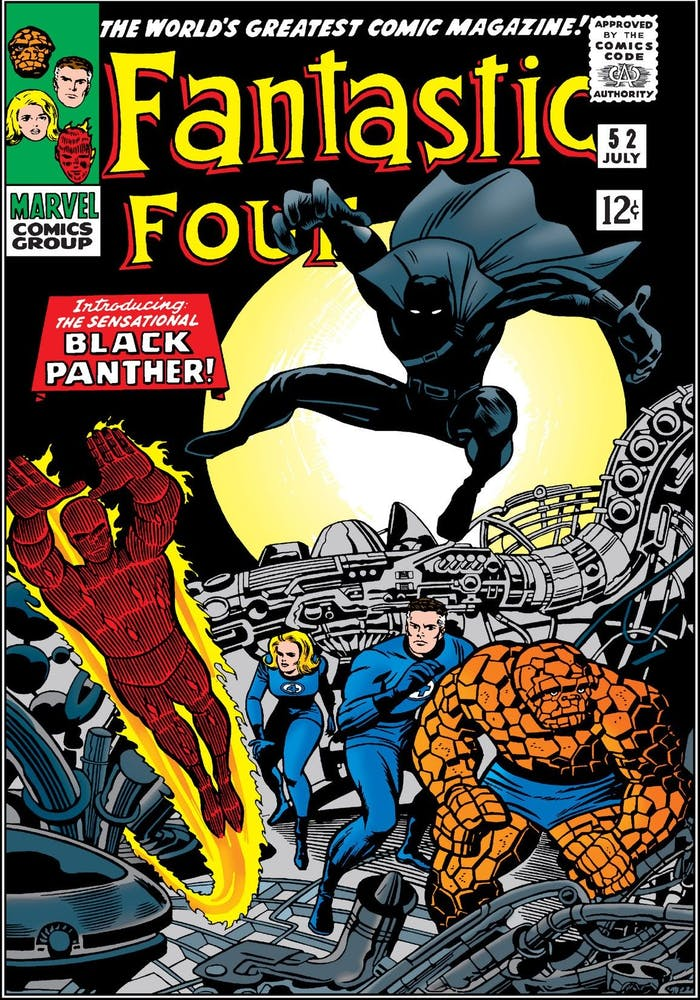 Black Panther Fantastic Four Debut