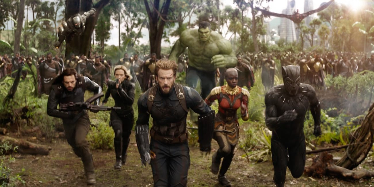 'Infinity War' promises an epic battle.