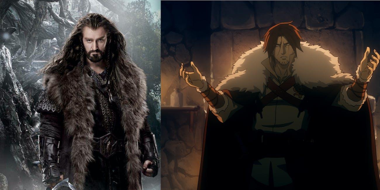Castlevania Thorin Oakenshield