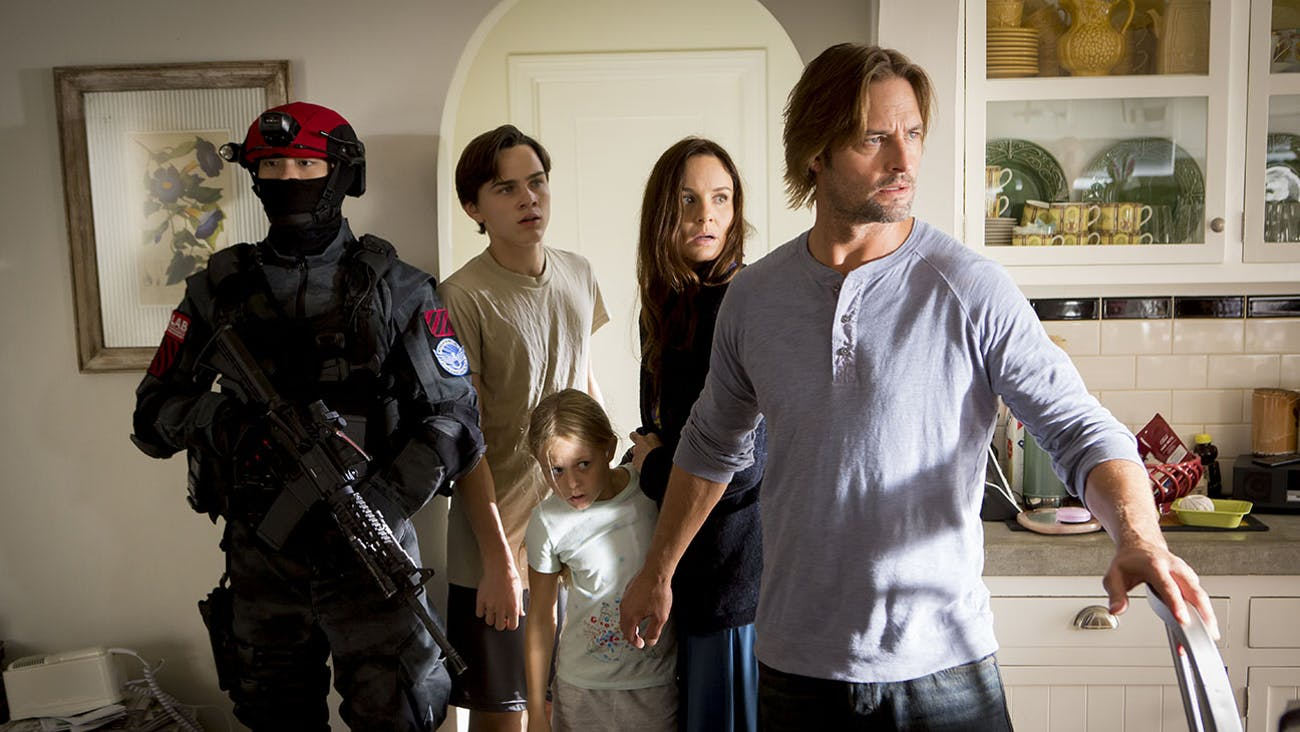 'Colony' is less a display of sci-fi and more about the societal implications of a serious sci-fi event.