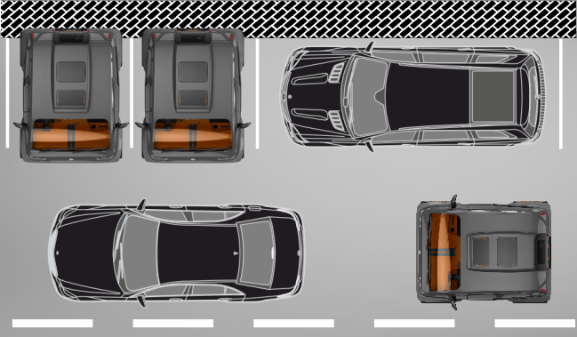 The Mirrow Provocator takes up half the amount of space on the road and in parking lots as normal cars
