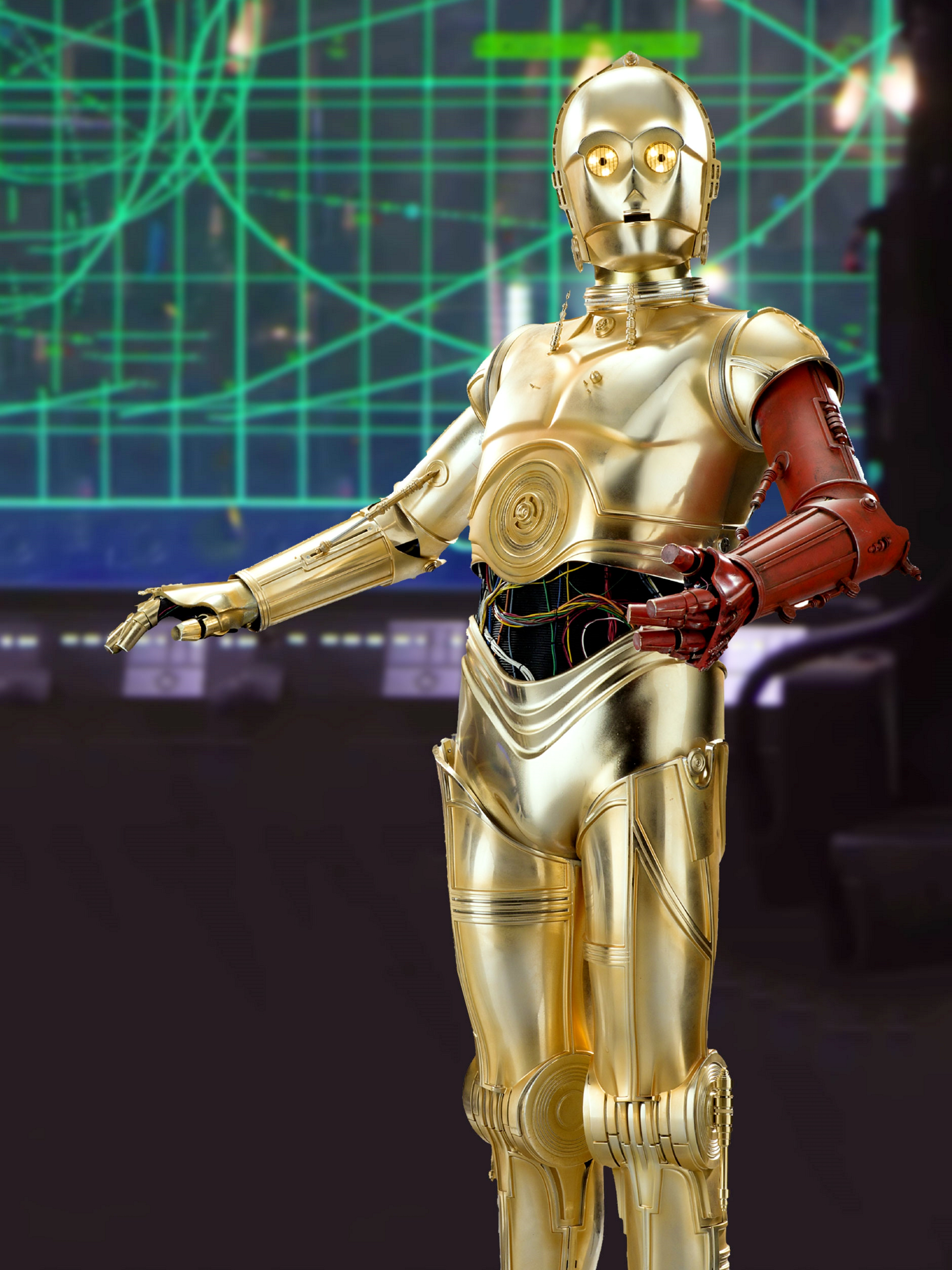 How C-3PO Got His Red ...C 3po Red Arm