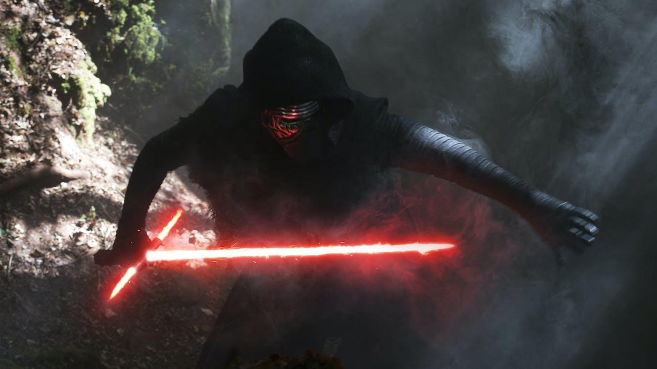 Kylo Ren in 'The Force Awakens'