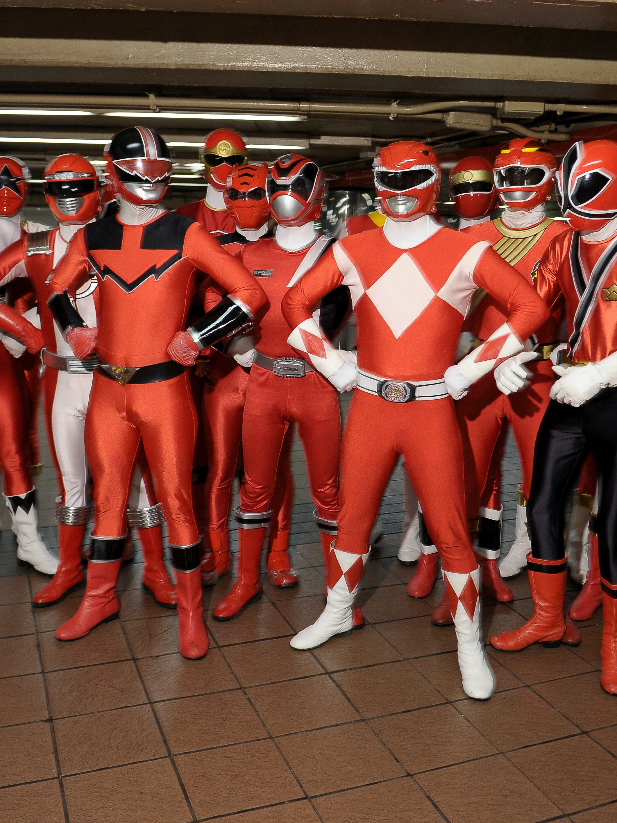 Power Rangers Red Rangers New York