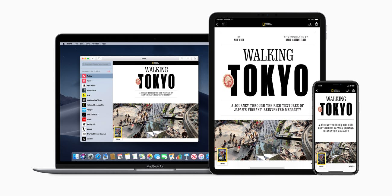 Apple News+