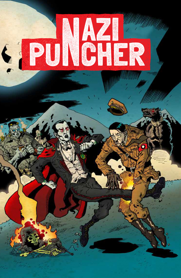 The cover of 'Nazi Puncher'
