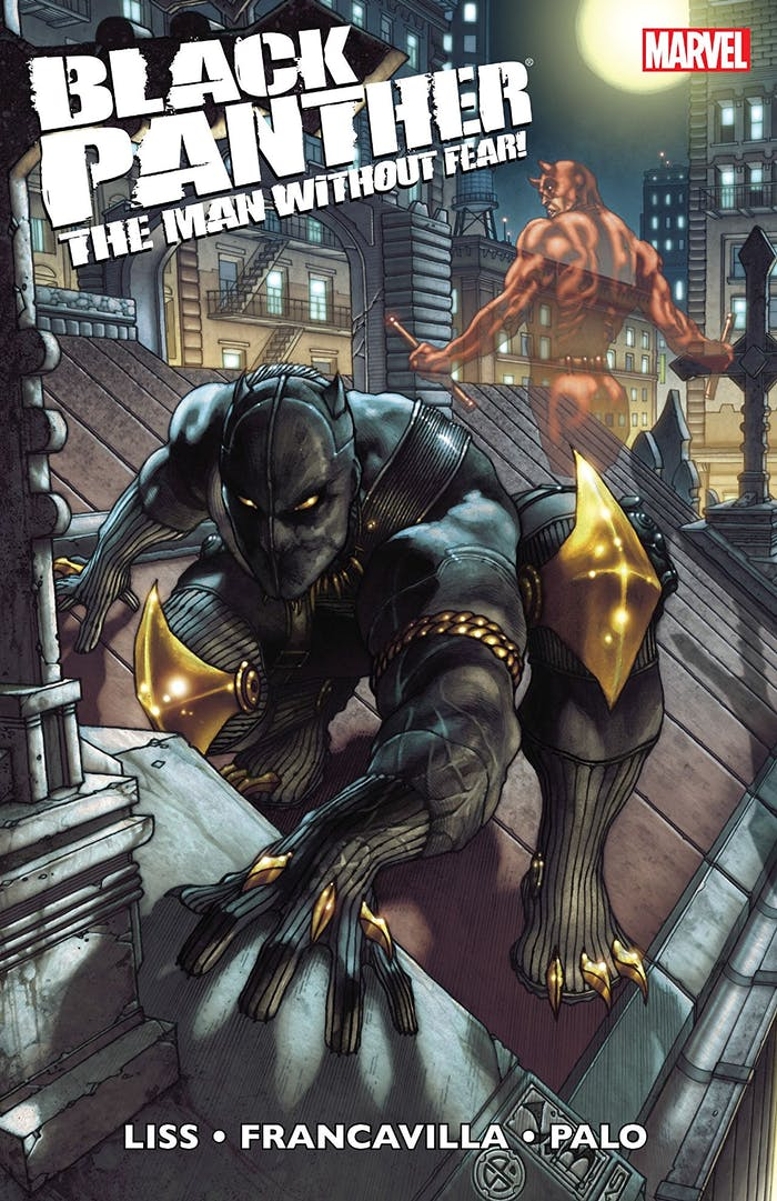 black Panther Man Without Fear