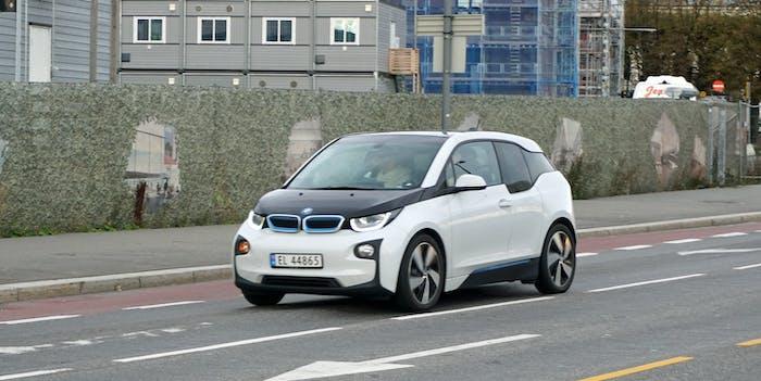 BMW i3 in Oslo, Norway