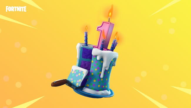 Only The Top Tier Of Birthday Cakes Looks Like This In Fortnite Battle