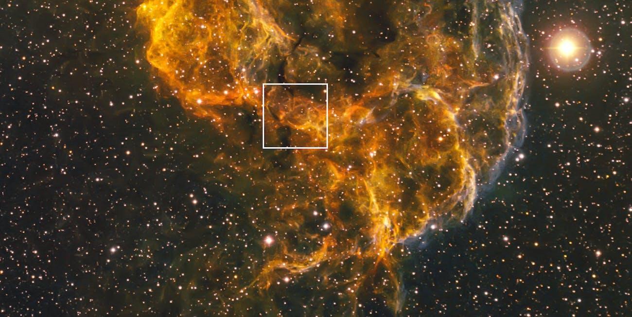 NASA jellyfish nebula