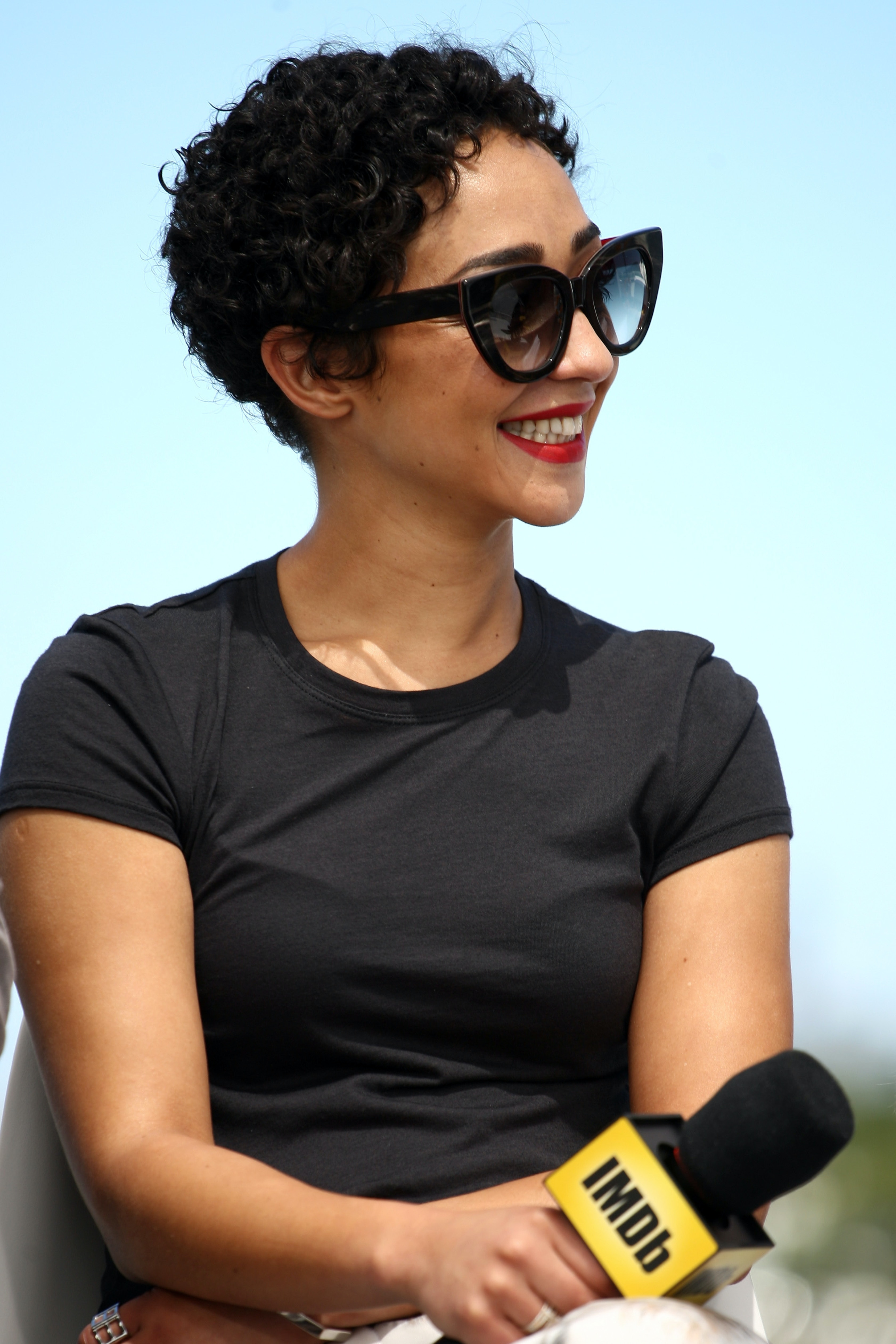 SAN DIEGO, CA - JULY 21:  Actress Ruth Negga attends the IMDb Yacht at San Diego Comic-Con 2016: Day One at The IMDb Yacht on July 21, 2016 in San Diego, California.  (Photo by Tommaso Boddi/Getty Images for IMDb)