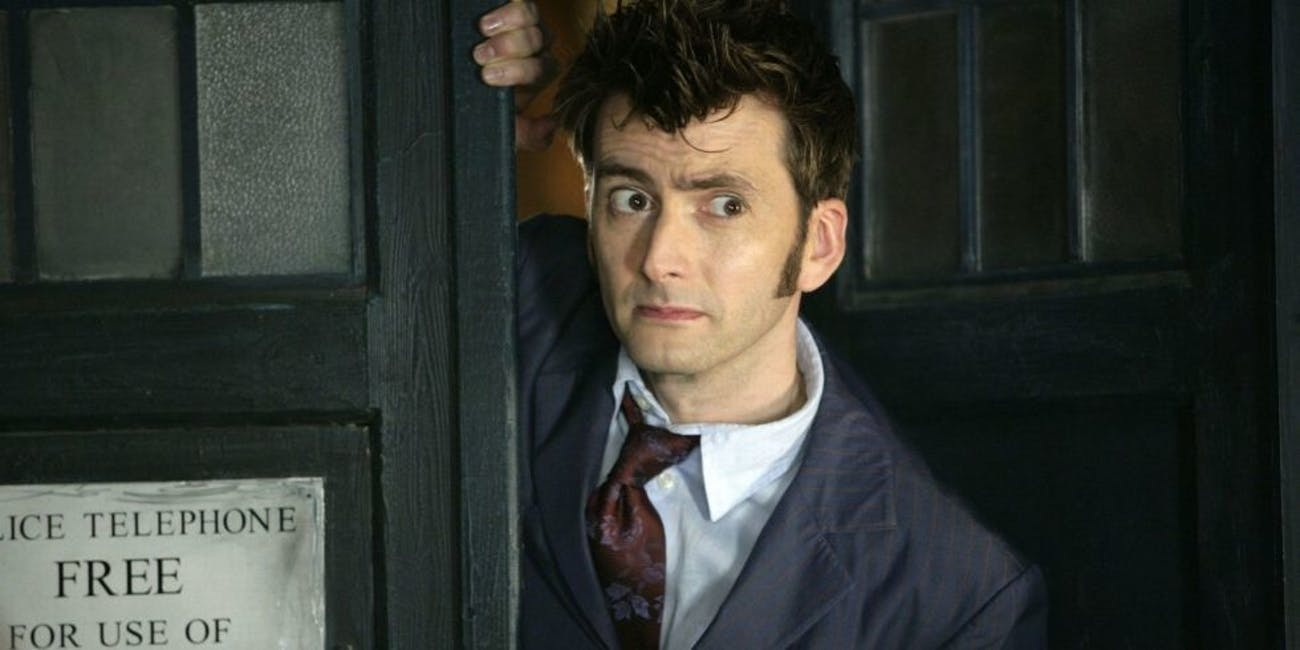 "Sure, David Tennant was definitely considered ""eye candy."""
